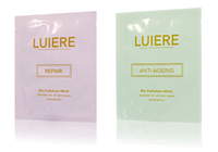 LUIERE Repair and Anti-Ageing Bio-Cellulose Facial Sheet Masks, Shipping Worldwide