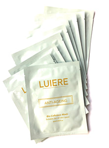 Bio-Cellulose Anti-Ageing Mask - LUIERE multipack (10pcs)