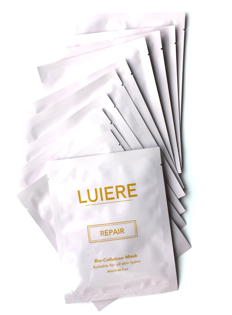 Bio-Cellulose Repair Mask - LUIERE multipack (10pcs)