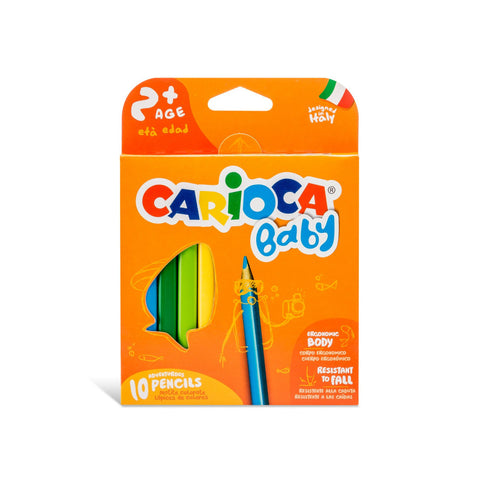 Carioca  Baby Pencils 10pc set