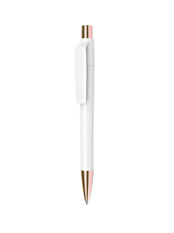 GS02 White Rose Gold Pen