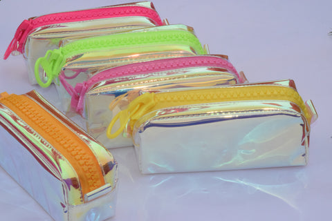 Neon Big Zip Pencil Box