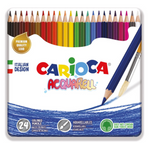 Carioca Acquarell water color pencils 24 pcs