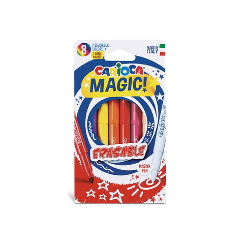 Carioca -  Magic - 7 erasable colors 1 magic marker
