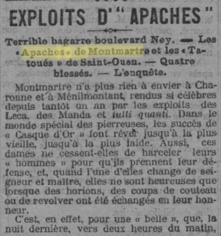 Exploits d'apaches
