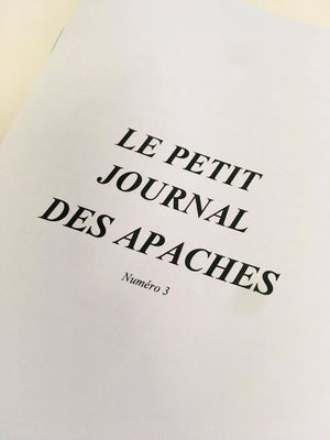 Le Petit Journal des Apaches #3 - Gang de Paris