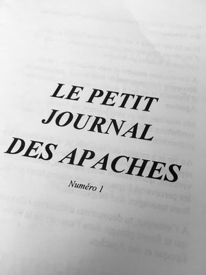 Le Petit Journal des Apaches #1 - Gang de Paris