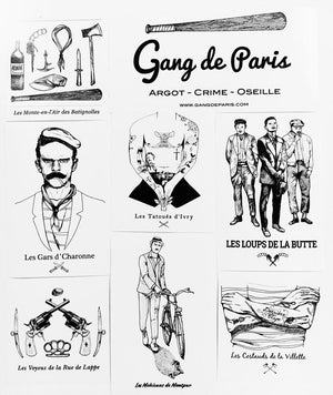 Stickers Saison 1 - Gang de Paris