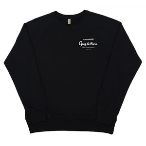 Sweat Argot Crime Oseille Noir - Gang de Paris