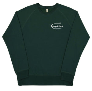 Sweat Argot Crime Oseille Vert - Gang de Paris
