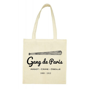Totebag Gang de Paris - Gang de Paris
