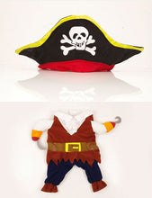 Halloween Pirate Dog Coat