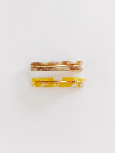 CRINKLE CLIPS | SUNSHINE SET | PEACH IT