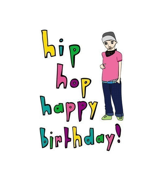 HIP HOP HAPPY BIRTHDAY