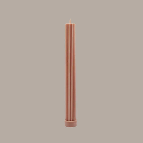 BLACK BLAZE | PILLAR CANDLE