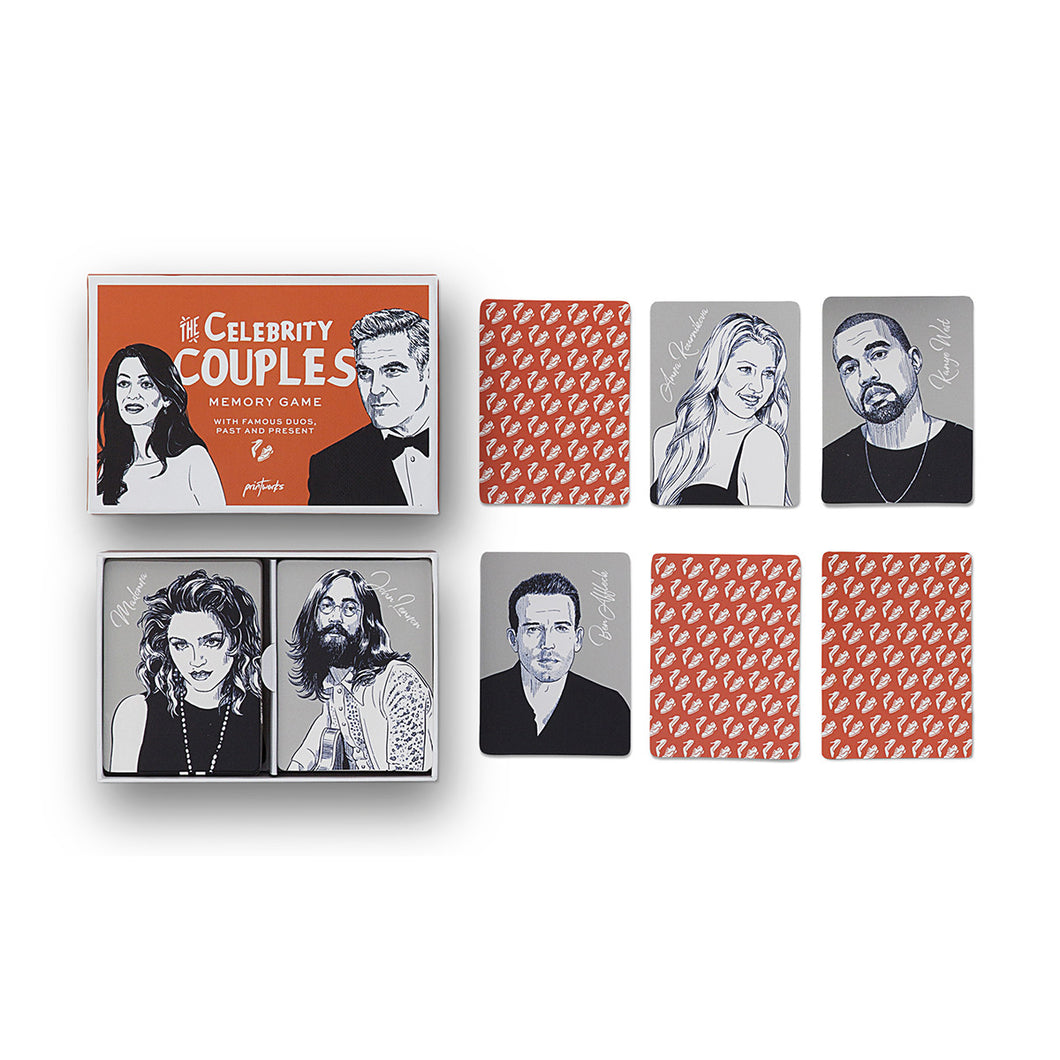 THE CELEBRITY COUPLES MEMORY GAME | PRINTWORKS