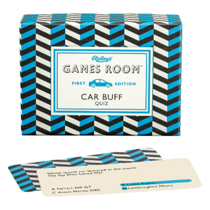 CAR BUFF TRIVIA | GAMES ROOM