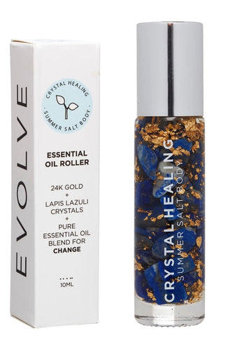 EVOLVE ESSENTIAL OIL ROLLER BLEND | SUMMER SALT BODY