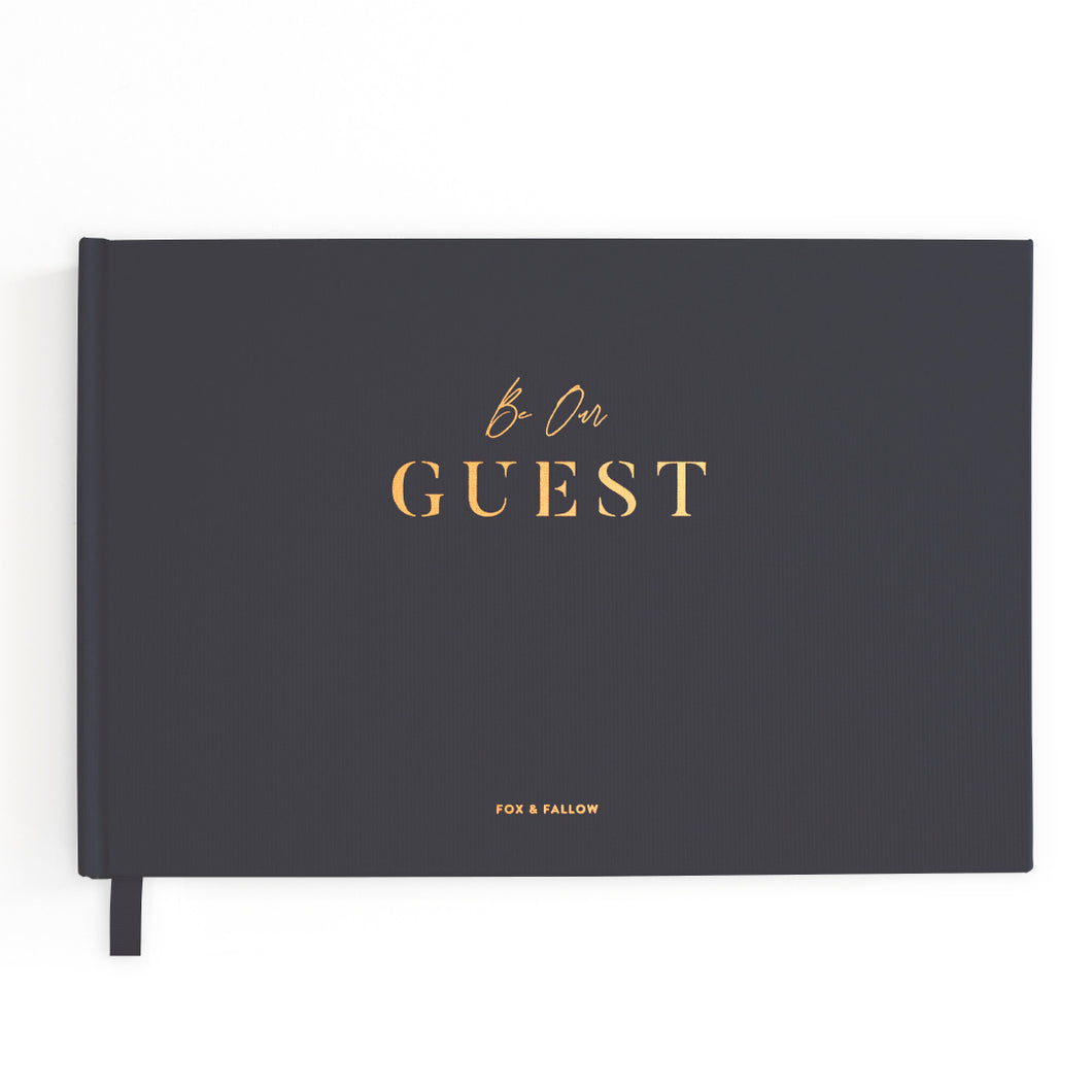 BE OUR GUEST BOOK | FOX + FALLOW