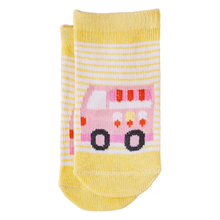 ORGANIC TODDLER SOCKS | TRUCKS