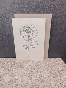 ROSE | SEEDED CARD