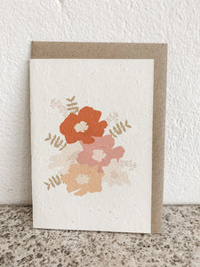 SUMMER BLOOMS | SEEDED CARD