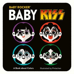 BABY KISS | A BOOK ABOUT COLOURS