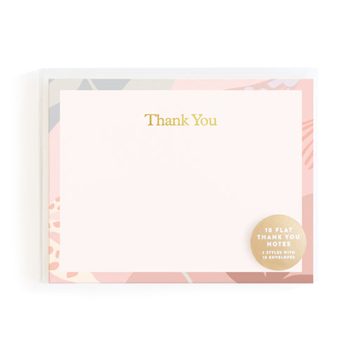 THANK YOU NOTE CARD SET | FOX + FALLOW