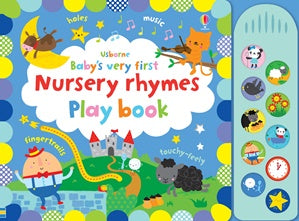 BABY'S VERY FIRST | NURSERY RHYMES PLAYBOOK