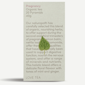 LOVE TEA: 20 PYRAMID BAGS