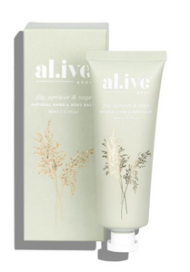 HAND BALM | FIG, APRICOT & SAGE | AL.IVE BODY