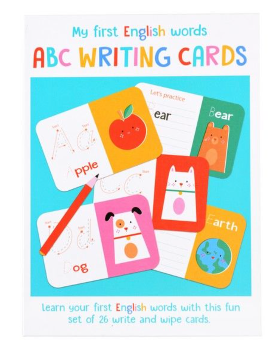 ABC WRITING CARDS