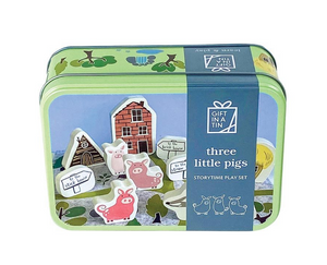 THE THREE LITTLE PIGS IN A TIN