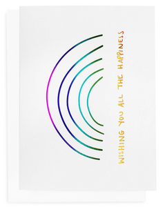ALL THE HAPPINESS CARD | THE SOMEWHERE CO