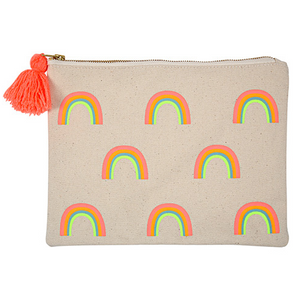 LARGE RAINBOW POUCH