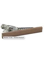 PEGGY AND FINN WOODEN TIE BAR