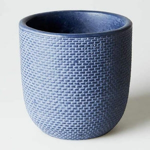 SMALL TWEED POT INDIGO | JONES & CO
