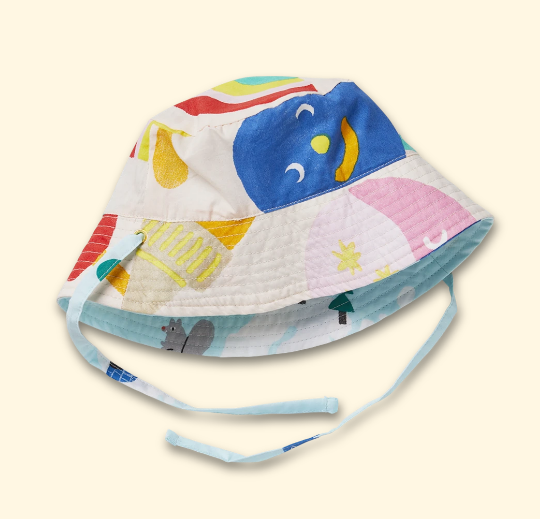 REVERSIBLE SUN HAT | HALCYON NIGHTS