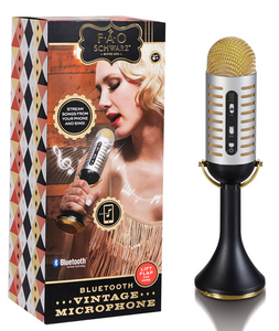 BLUETOOTH VINTAGE MICROPHONE