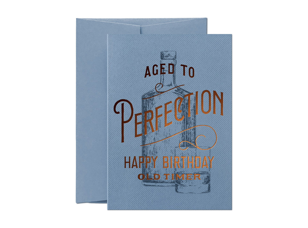 AGED TO PERFECTION | HAPPY BIRTHDAY OLD TIMER