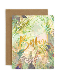 BESPOKE LETTEPRESS | BABY! | JUNGLE