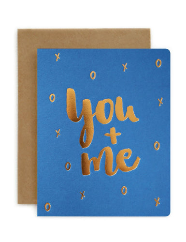 YOU + ME | BEPOKE LETTERPRESS