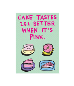 CAKE TASTES 25% BETTER WHEN IT'S PINK | ABLE + GAME