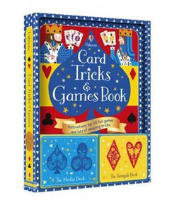CARD TRICKS + GAMES BOOK