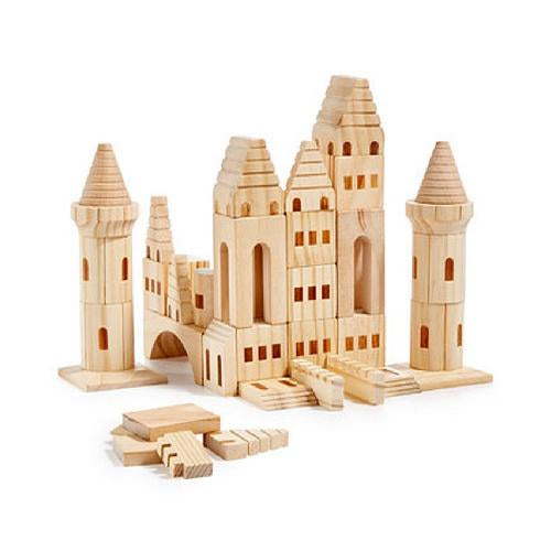 CASTLE BUILDING BLOCKS | 75 PIECE | SOLID WOOD