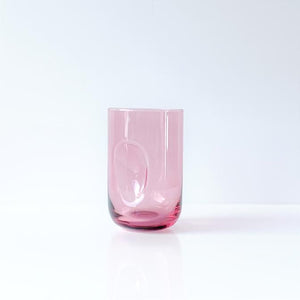 DIMPLE GLASS | SET OF TWO