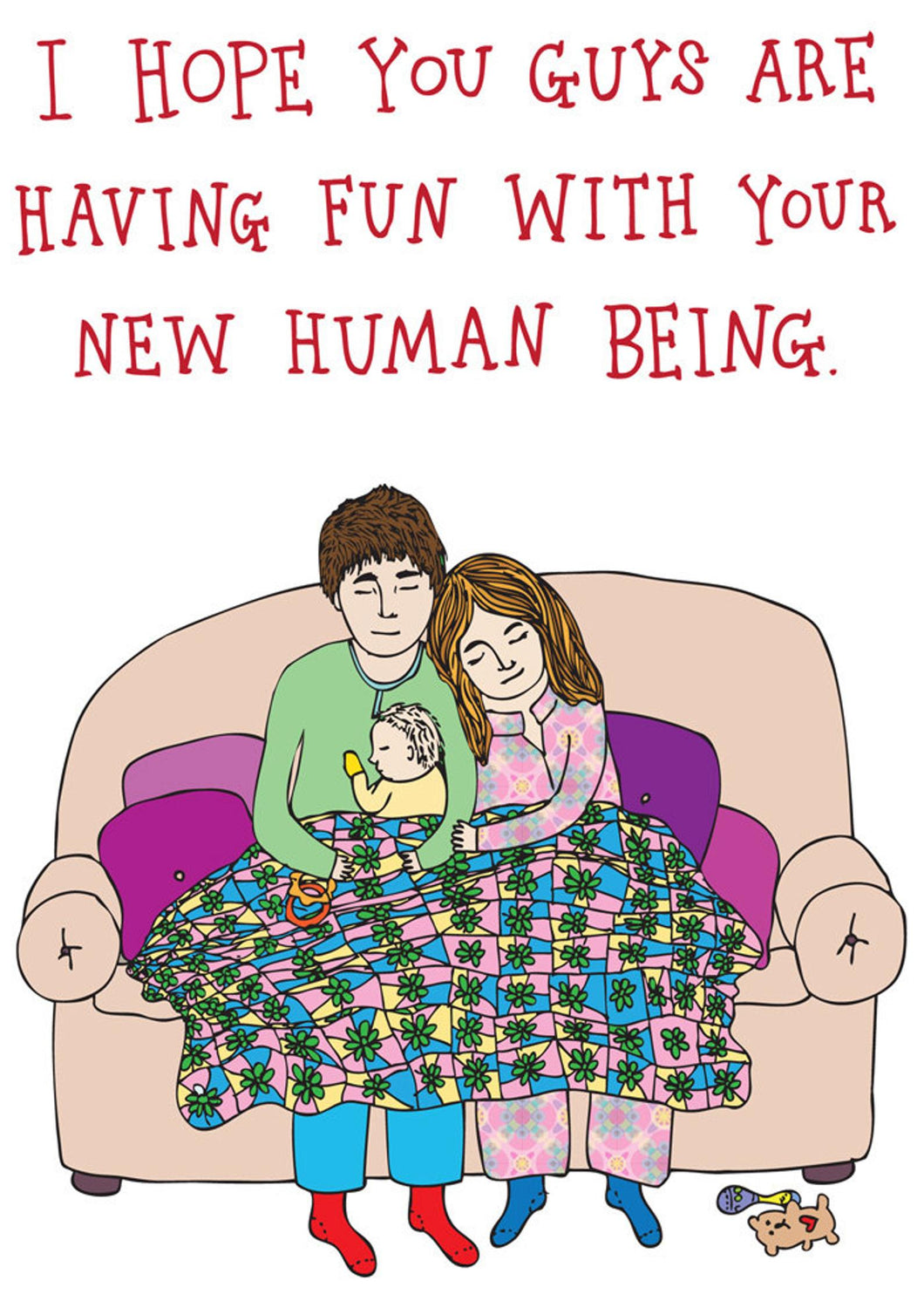 FUN WITH YOUR NEW HUMAN BEING | ABLE + GAME