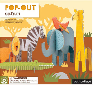 POP OUT + PLAY: SAFARI