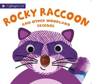 ALPHAPRINTS | ROCKY RACCOON