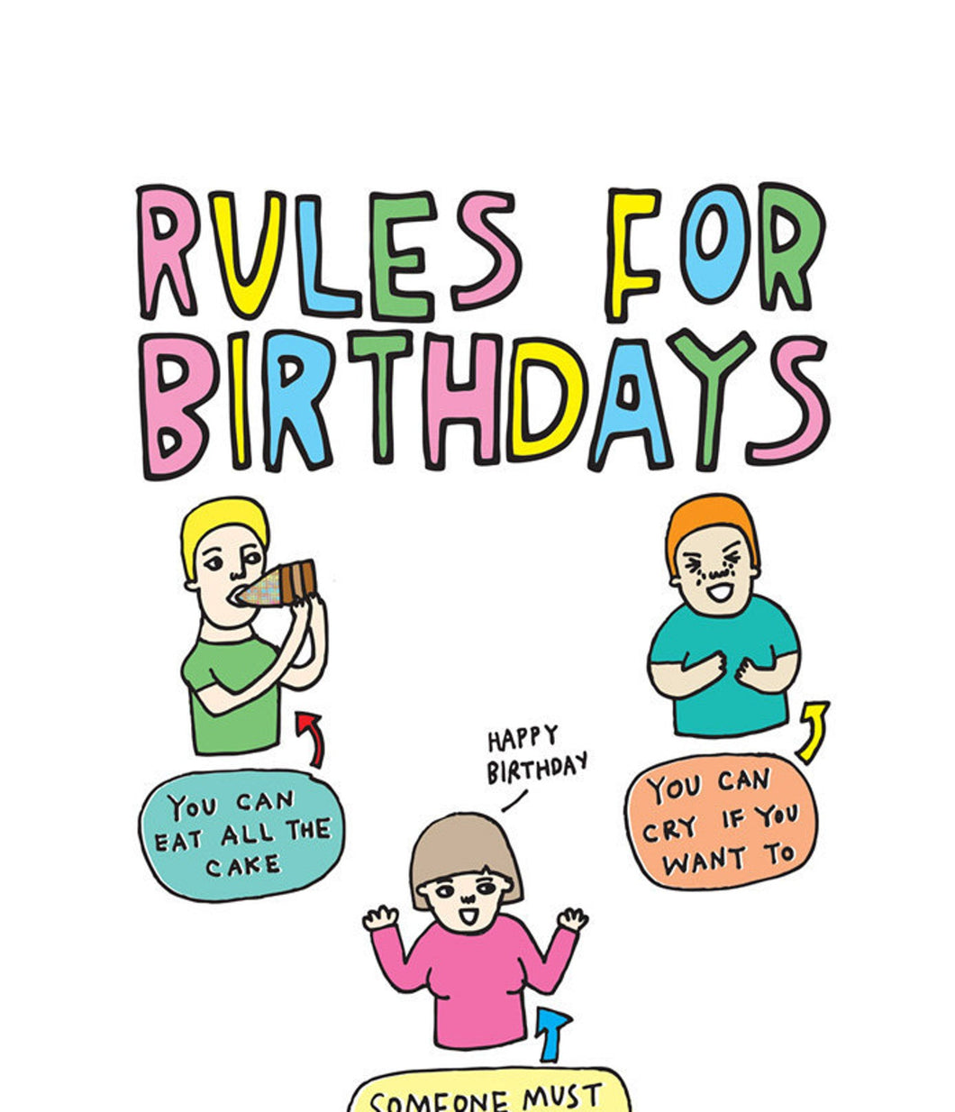 RULES FOR BIRTHDAYS